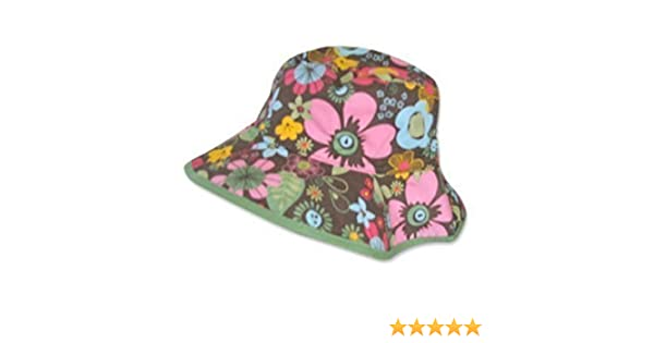 f308ca280b3 Baby Girls Floral Reversible Sun Hat (3-6 months)  Amazon.co.uk  Baby