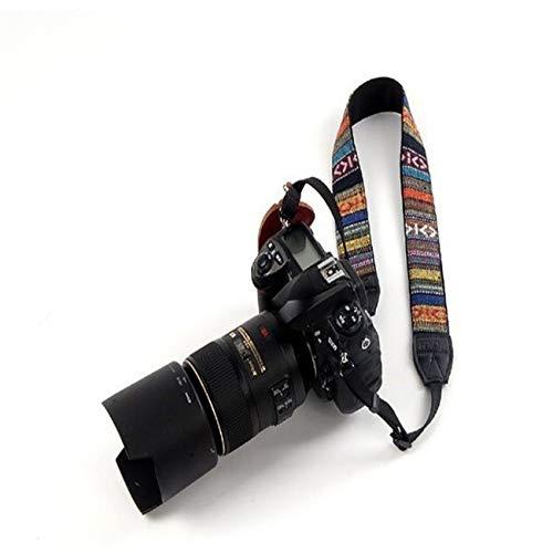 Fannty Kameragurt-Schultergurt kompatibel mit Nikon, Canon, Sony, Olympus, Kodak und Pentax ETC DSLR/SLR - Canon Wide Neck Strap
