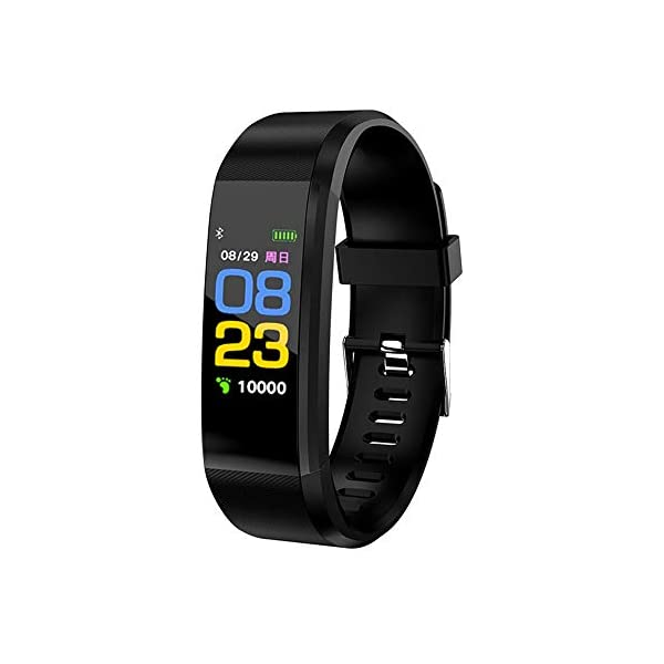 Fitness Tracker, reloj de pulsera de actividad con monitor de presión arterial IP67 resistente al agua con podómetro, contador de calorías y contador de pasos, regalo de cumpleaños para niños, mujeres, hombres 1
