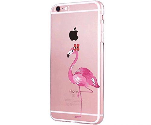 Cover iPhone 6/6S Plus Trasparente Creativo morbido Silicone Luce e sottile TPU arte pittura Serie phone case DECHYI Design# 1