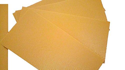 APIFORMES Mittelwand - Dadant Honigraum 420 x 115 mm - 2kg | Mittelwände | Wachs | Wachsplatten |...
