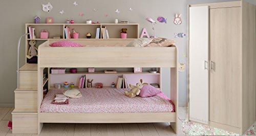 Etagenbett Metall Teilbar : ᑕ❶ᑐ hochbett mit schrank ▻ bestseller für ihr schlafparadies
