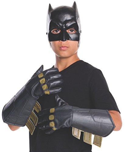 Rubie 's Offizielles Batman Handschuhe Handschuhe Zubehör Dawn of Justice, Kinder Kostüm