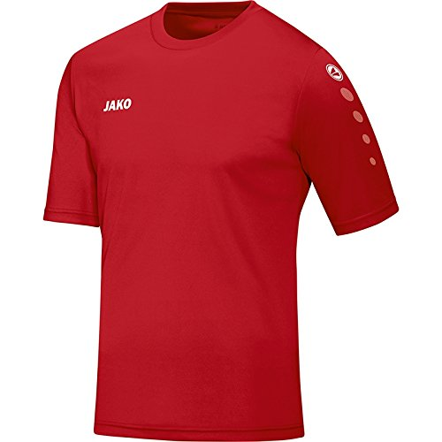 Rot Fußball Trikots (JAKO Herren Trikot Team KA Fußballtrikots, Rot, S)