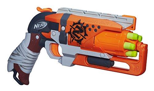 pistola nerf zombie