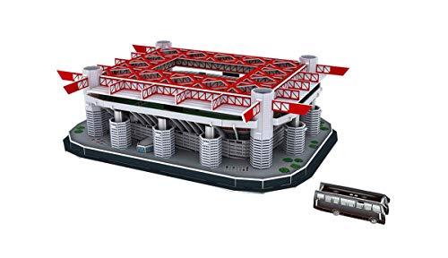 Suchen Fußballmann-Fan? Stadio San Siro, Italien, 3D Puzzle, JTIH® Multi Colored