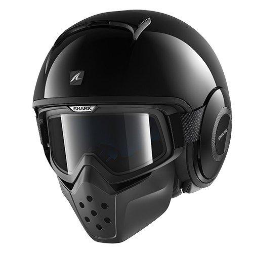 Shark Raw vuoto casco da moto, nero, taglia XL