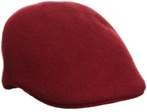 Kangol Herren Mütze, Seamless Wool 507, GR. Small (Herstellergröße: Small), Rot (Claret) (Cap Ivy Herren Kangol)