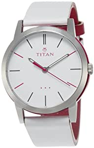 Titan Youth Analog White Dial Women's Watch - 9954KL05J