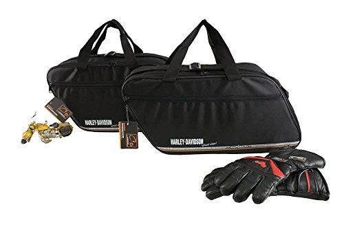 Harley-Davidson Road King sowie Road-, Street- und E-Glide: Innentaschen für Kunststoff Koffer Kofferinnentaschen