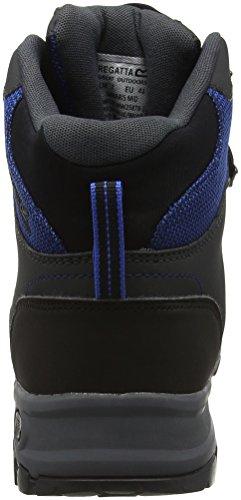 Regatta Samaris Mid, Chaussures de Randonnée Hautes Homme Bleu (Oxfdbl/Briar 2Ff)