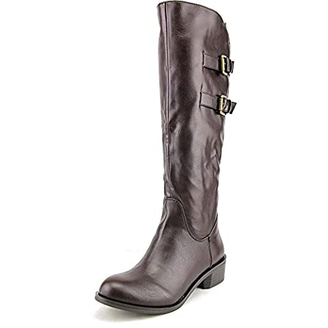 Style & Co Masen Wide Calf Women US 6 Brown Knee High Boot
