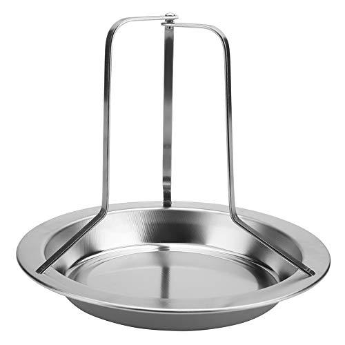 Preisvergleich Produktbild DGTRHTED BBQ Zubehör - 1 Stück Edelstahl Aufrecht Brathähnchen Halter Bräter Rack Grill Grillen Werkzeuge
