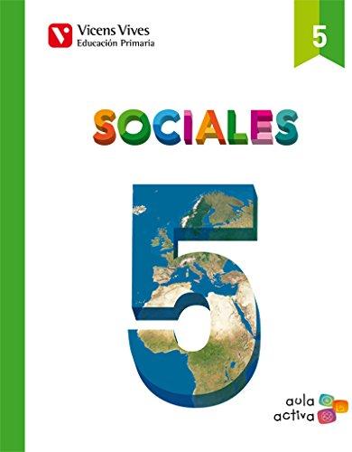 SOCIALES 5 (AULA ACTIVA): 000001 - 9788468220758 por Margarita Garcia Sebastian
