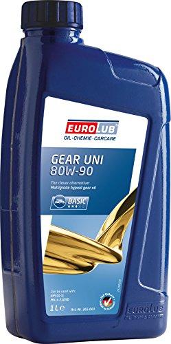 Eurolub Aceite para Engranajes Gear Uni SAE 80W-90