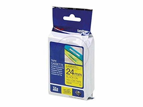 Preisvergleich Produktbild Brother P-Touch 9800 PCN (TZE-S651) - original - P-Touch schwarz auf gelb - 24mm x 8m