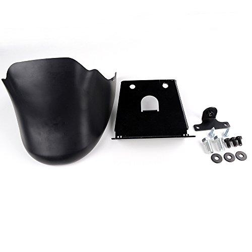 039813ff52 Astra Depot Negro Mate barbilla carenado frontal inferior Alerón Dam de  aire para Harley Davidson Sportster