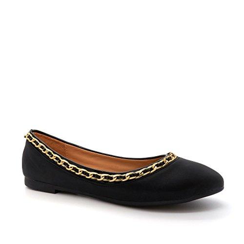 London Footwear - Ballet donna Nero (nero)