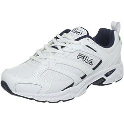 Fila Capture Hombre US 9 Blanco Grande Zapatos Deportivos