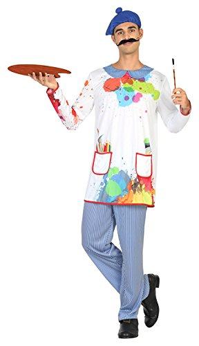 ATOSA 30734 - Maler, Herrenkostüm, Größe M-L, - Maler Kostüm Für Erwachsene