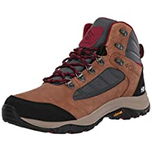 Columbia Women's 100MW Mid Outdry Hiking Shoe, Grey (Graphite, Beet 053), 6 UK