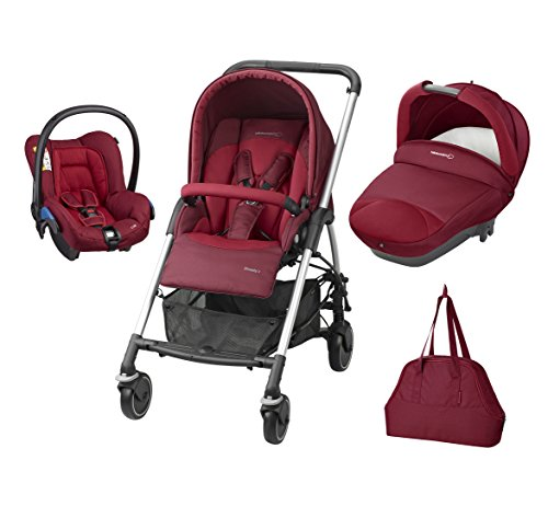 Bébé Confort Poussette Combinée Trio Streety Next - Robin Red - Collection...