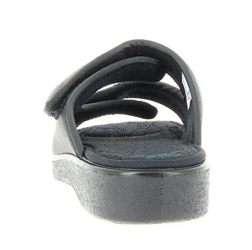 Varomed torun Unisexe Pantoletten, Sandales 58909–60Association Pantolette, Association Chaussures, Chaussons, rééducation, Chaussures therapieschuhe Noir - Noir