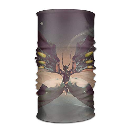 JIILWKIE Multifunctional Headwear Figure Headband Fashion Headscarf Sweatband for ()