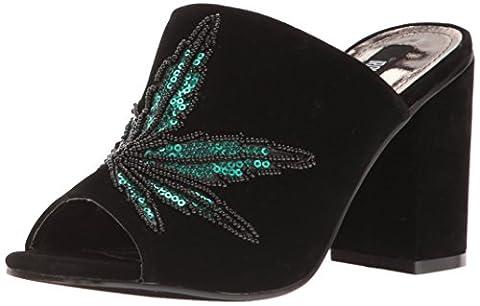 Iron Fist Mary Jane Slide Heel, Talons compensés femme - noir - Schwarz (Black),