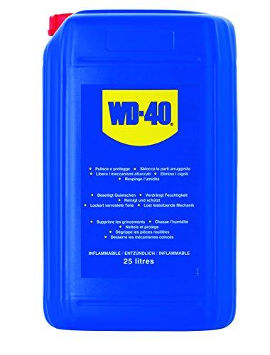 WD-40 44025 Lubrifiant Agent Anticorrosion et de Déboucheur Professionnel 25 Litres Transparent