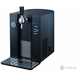 Naelia COL-11601-NAE - Mini tirador de cerveza, color negro