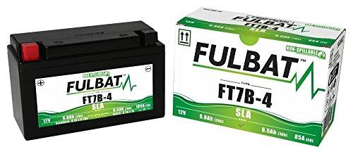 Ducati Panigale 899,959,1199,1299 ABS,S,R, Superleggera, Tricolore, wartungsfreie SLA-GEL Fulbat Batterie FT7B-4 Sla-batterie