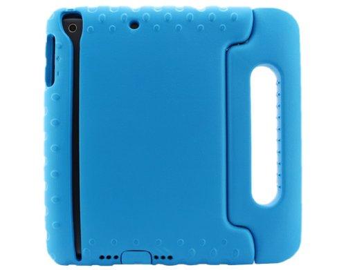 Cosplay life Kinder Kids Stoßfest Portabel Hand tragen Hart EVA Foam Tasche Gel Case Hülle Cover mit Standfuß Für Apple iPad Mini / Mini 2 (Blau)