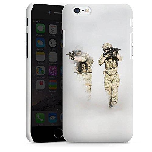 Apple iPhone X Silikon Hülle Case Schutzhülle Soldaten Einsatzkommando Soldat Premium Case matt