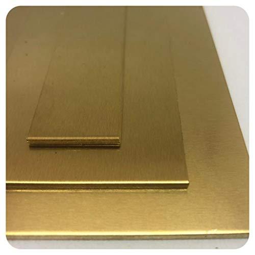 Messingblech 1mm Messing Platte Kupfer platte KUPFER 63%- ZINK 37 % nach Auswahl