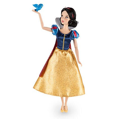 DISNEY STORE SNOW WHITE 12 CLASSIC DOLL WITH BLUEBIRD by Disney Interactive Studios