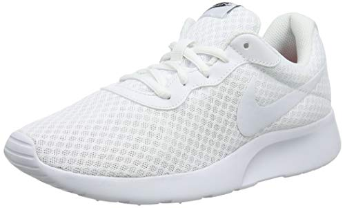 Nike Damen Tanjun Laufschuhe, (Weiß), 37.5 EU - Nike Leichte Turnschuhe