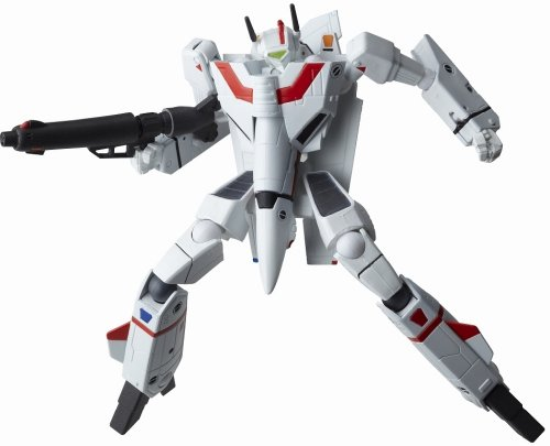 Macross Robotech Revoltech #084 Super Poseable Action Figure VF1J Valkyrie Do You Remember Love Version (japan import)