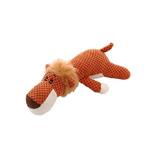 AOTE-D Tiger Cute Soft Soft Filler Naranja Marrón 35CM...