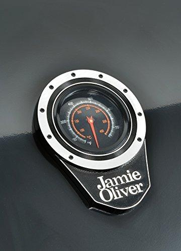 Jamie Oliver Home 2-flammiger Gas BBQ–Schwarz - 6