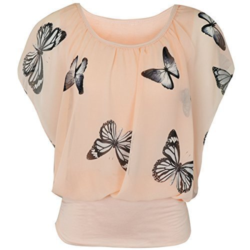 ladies-womens-summer-top-chiffon-sleeveless-evening-polka-butterfly-vest-size-uk