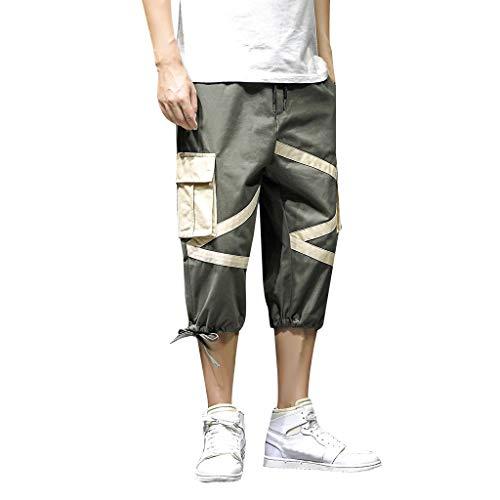 Zolimx Casual Shorts für Herren, Herren Sommer New Style Fashion Outdoor Sports Mehrfach-Overalls Hosen -