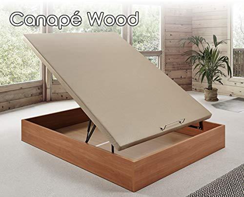 HOME Canapé abatible Wood Medida 120x180 cm Color