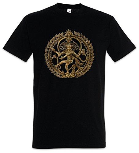 Shiva II Vintage T-Shirt - Buddhismus Shivaismus Yoga Buddha Hinduismus OM Shirt Größen S - 5XL (XXL)