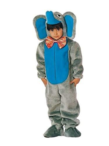 DISBACANAL Disfraz de Elefante Adulto - Único, XL
