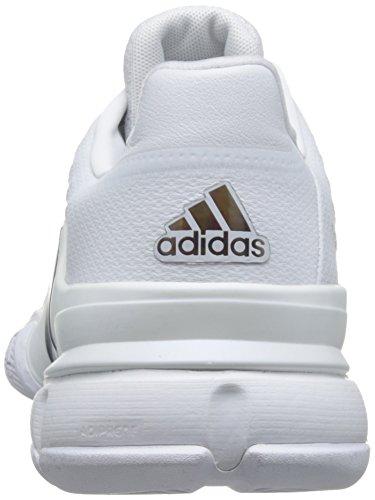 adidas Barricade 2016, Chaussures de Tennis Homme Blanc Cassé - Blanco (Blanco (Ftwbla / Maruni / Kusifo))