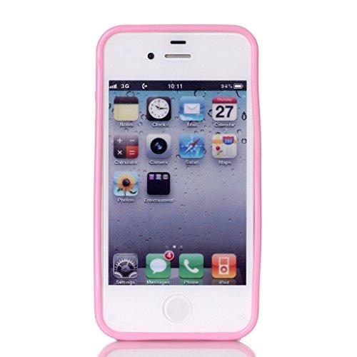 Evtech (tm) Azure simple cuir PU Folio Case Cover Back flip support c avec support de téléphone et la carte Slots pour iPhone 5s Motif-8