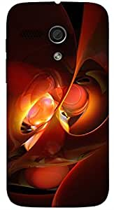 Lovely multicolor printed protective REBEL mobile back cover for Motorola Moto G (2014) 1st Gen D.No.N-L-14259-MG1