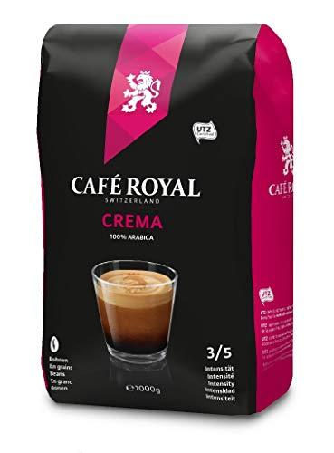 Café Royal Crema Bohnenkaffee 1kg, 1er Pack (1 x 1kg)