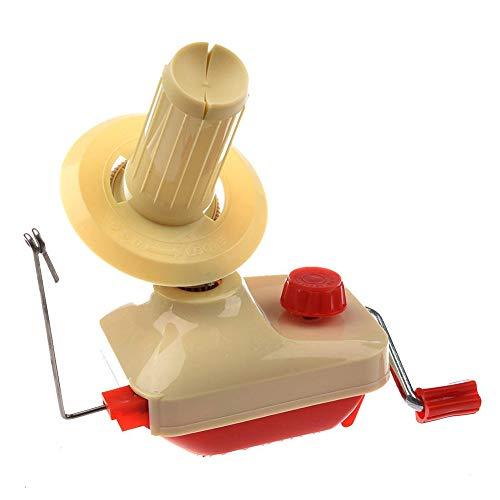 Hemore Kleine Ball Wolle Wickler Garn Fiber String Wickelmaschine Haushalt DIY Strickwerkzeug für Haushalt Lace Wrap-around Wrap